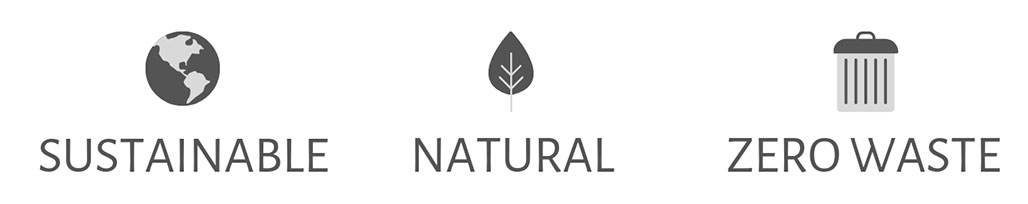 Nu Bags Reusable bags are sustainable, natural, and create zero waste
